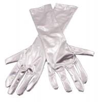 Silber Handschuhe Metallic