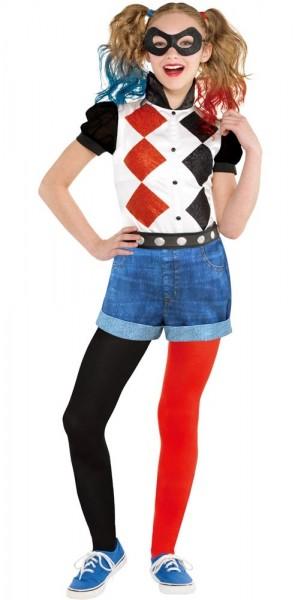 Harley Quinn Lizenz Kinderkostüm