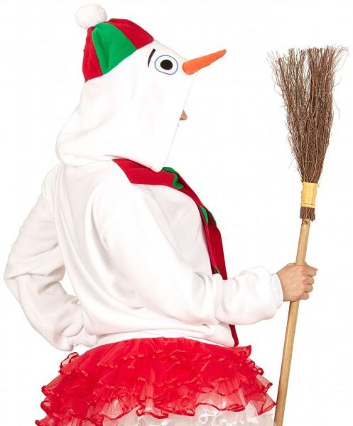 Suéter con capucha Olafio snowman