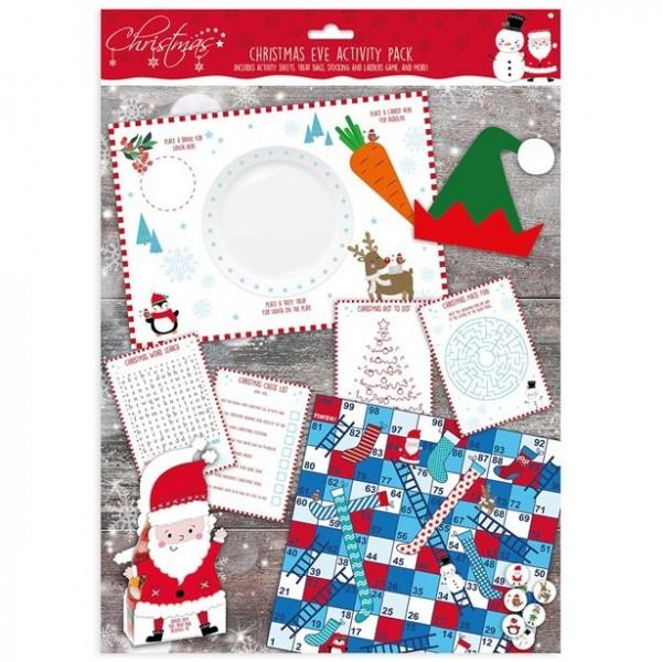 Weihnachtliches Rätsel Spiel-Set für Kinder