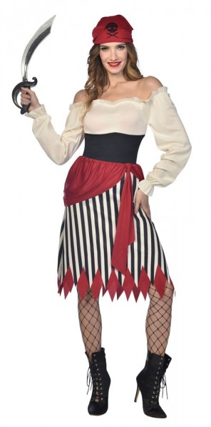 Pirate Wench Sandy Costume Women's