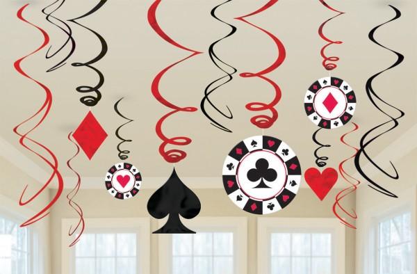 Casino Life vortex ceiling hanger 61cm