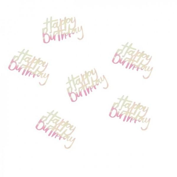 Schimmerndes Happy Birthday Konfetti 14g