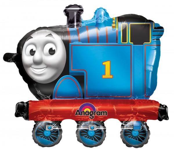 Zug Folienballon Thomas