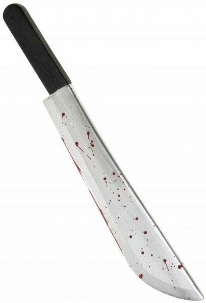 Halloween Horror Blutige Machete 54cm
