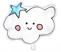 Einhorn Twinkle Wolken Ballon 54 x 43cm