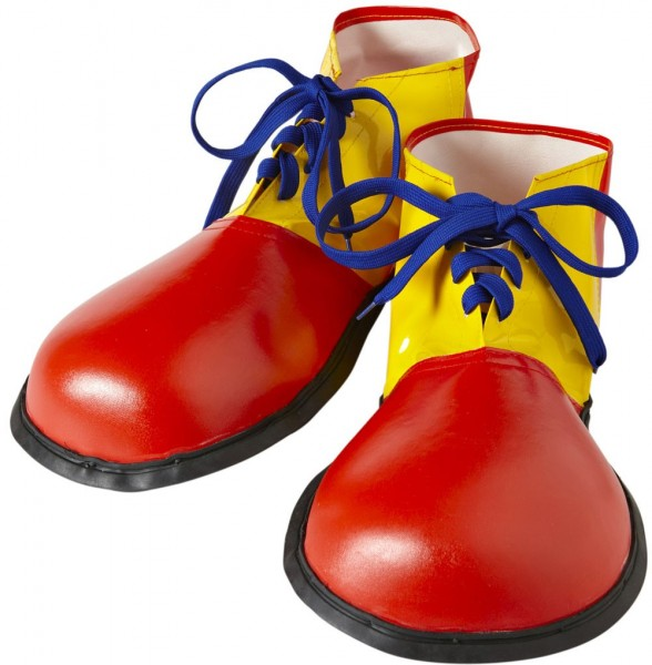 Scarpe da clown colorate buggie