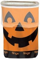 Halloween Party Kürbis Mülleimer Aufklappbar 49,2l