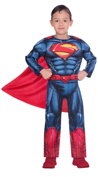 Superman license costume for boys