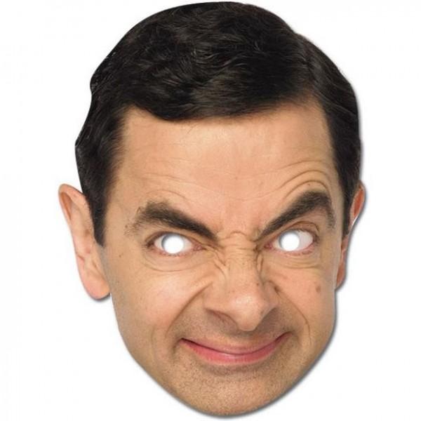 Tekturowa maska Mr Bean