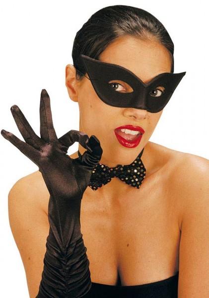 Schwarze Arcana Augenmaske