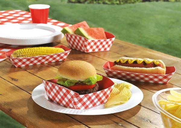 50er-Set Picknick Essensschalen