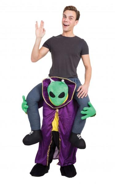 Marsmenschen Huckepack Kostüm