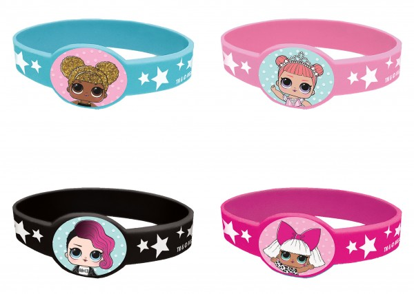 4 LOL Surprise Armbänder