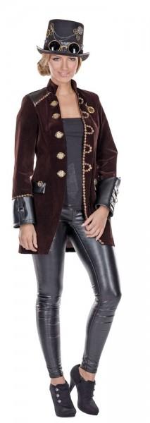 Steampunk Coat Miss Loretta Ladies Costume