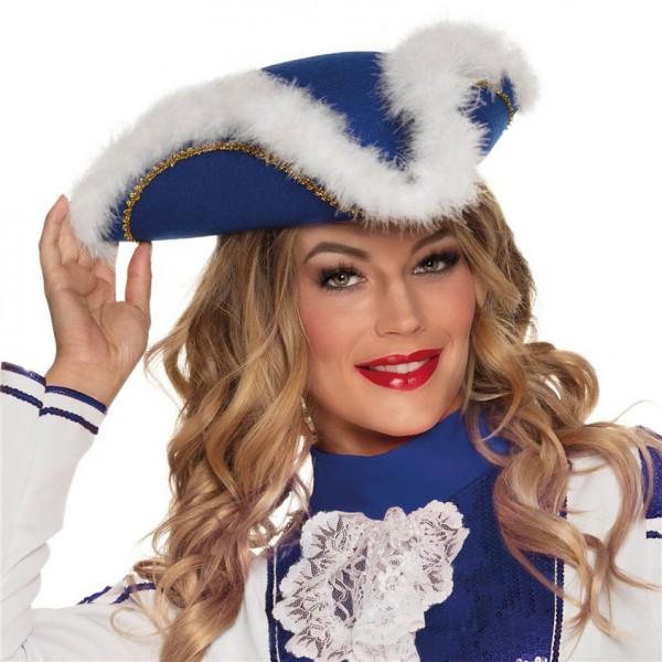 Funkenmarie Garde Hut blau