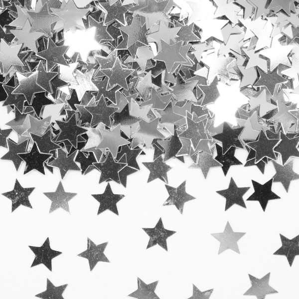 15g Streudeko Sterne silber 1