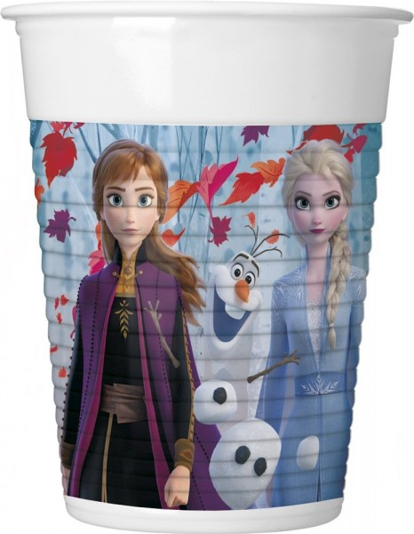Frozen 2 drinking cups 8 pieces 200ml