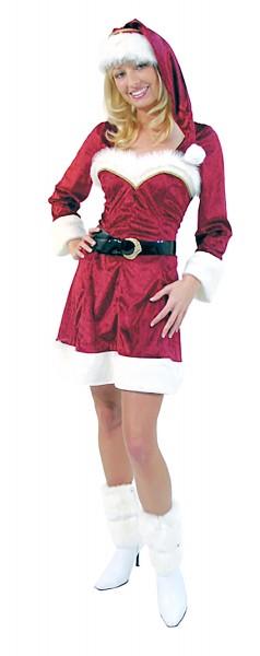 Sexy Weihnachtsfrau Santa Claudia Premium Kostüm