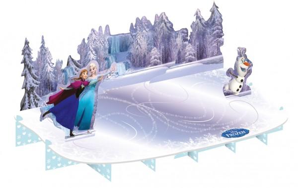Présentoir à gâteaux Frozen Eiszauber 50 x 27 cm