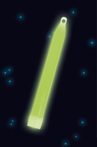 Power Glowstick Con cavo 15 cm verde