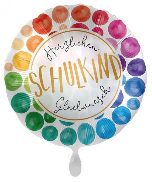 Glückwunsch Schulkind Folienballon 43cm