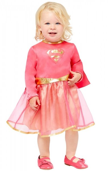 Mini Supergirl Costume Girls