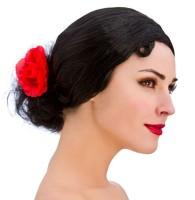 Klassisch Spanische Señorita Perücke
