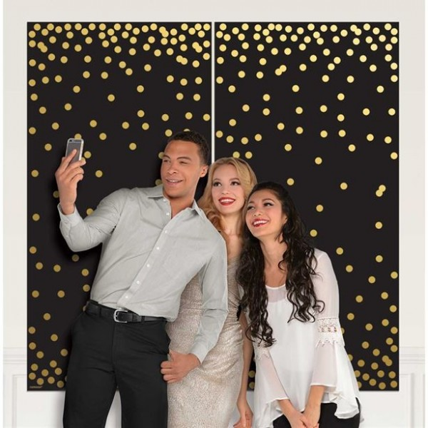 VIP Celebrity photo backdrop 1.65mx 85cm