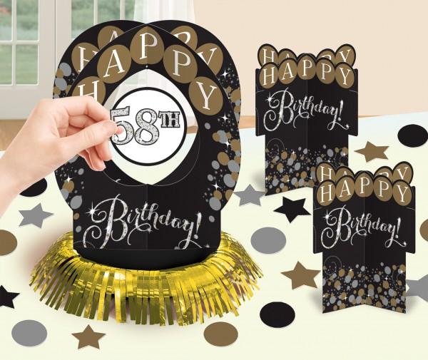 Golden Age Birthday Tischdeko-Set