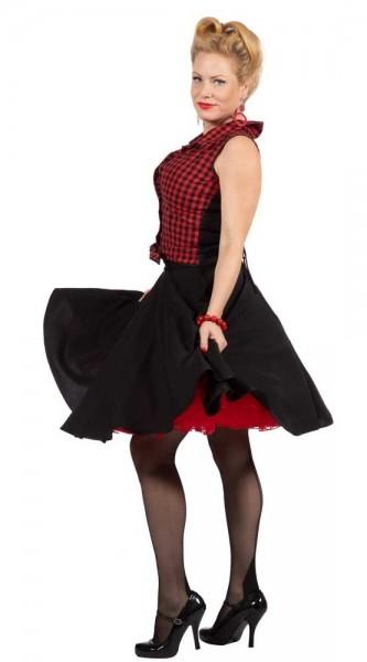 Kariertes Rockyabilly Kleid Kathi