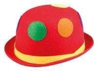 Roter Clownshut Melone Mit Bunten Punkten