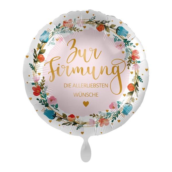 Beste Wünsche zur Firmung Ballon 43cm