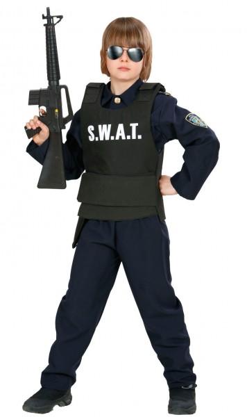 Gilet enfant SWAT noir