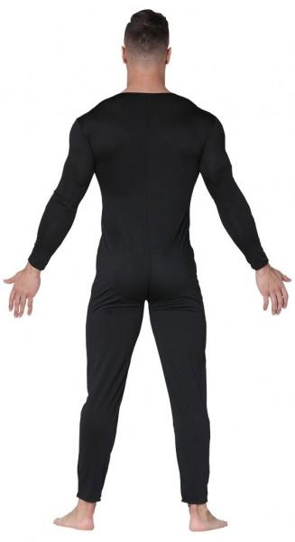 Cuerpo completo para hombre negro