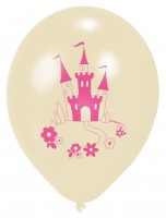 6 Prinzessin Isabella Luftballons 23cm