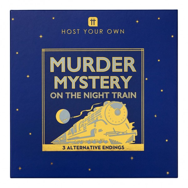 Murder Mystery Partyspiel Night Train