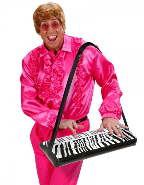 Aufblasbares Keyboard Zebra Style