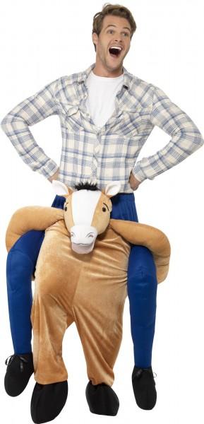 Pony Rodeo-piggyback-kostuum