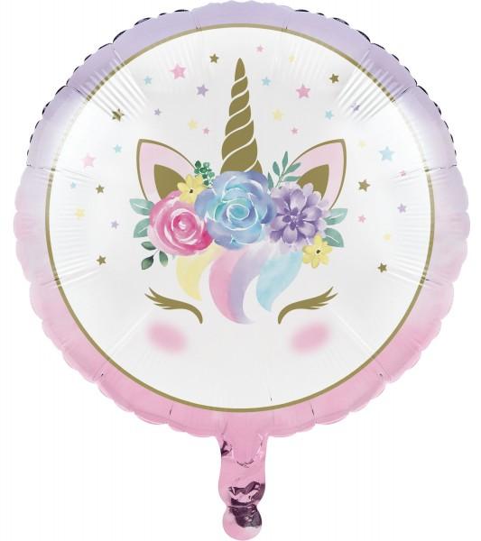 Princess Unicorn foil balloon 46cm