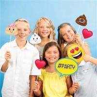 Kackhaufen Emoji Foto-Requisiten Set 10-teilig