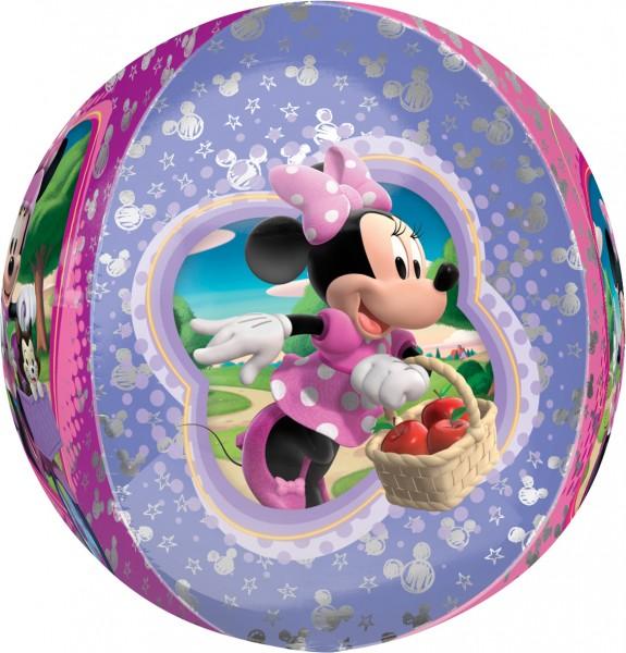 Orbz Ballon Minnies rosarote Welt