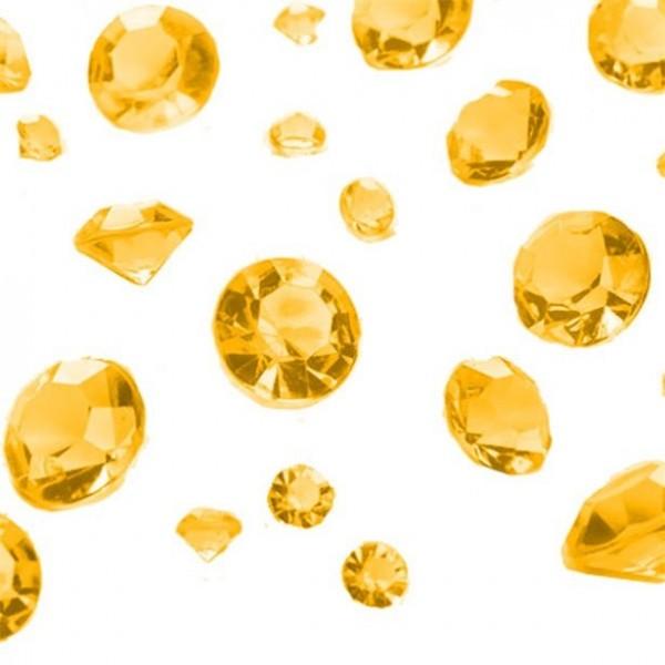 Royale Streudeko Diamanten gold 100g
