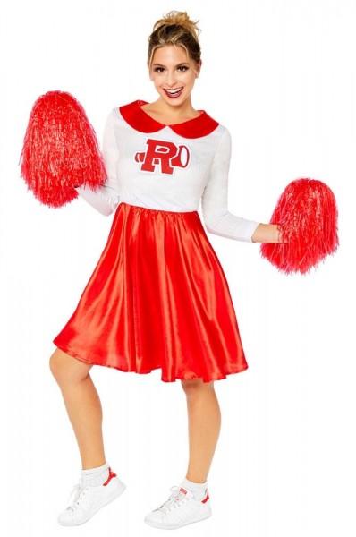 Luksusowy kostium cheerleaderki dla kobiet Sandy Grease