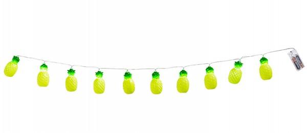 Ananas LED Lichterkette 140cm