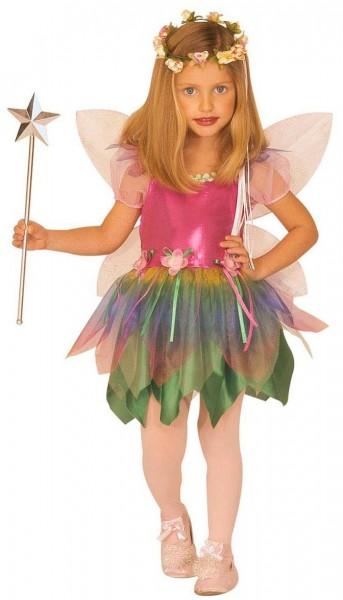 Disfraz infantil de hada mágica arcoíris