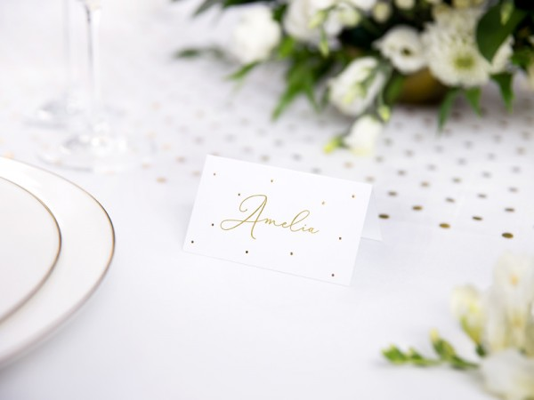 10 thousand beautiful place cards gold