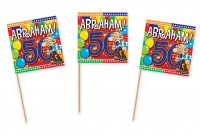 50 Abraham Party Spieße
