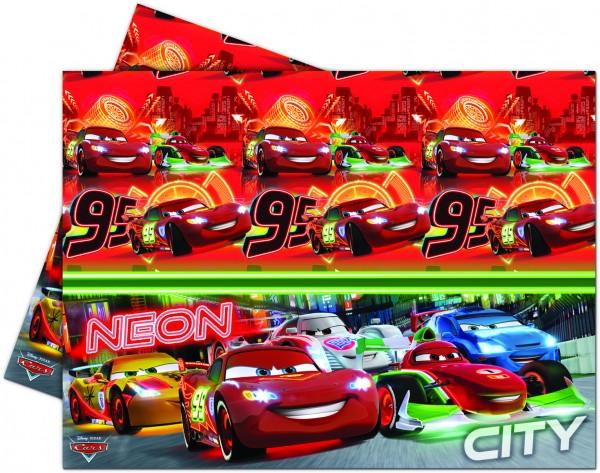 Cars Neon City Tischdecke 1,8 x 1,2m