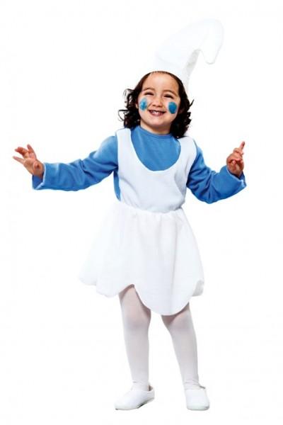 Blaues Zwerghausen Kinderkostüm
